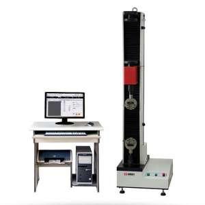 微机控制单立柱电子拉力试验机